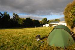 Tenting in Tiraumea