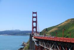 You can ride the Golden Gate Bridge
