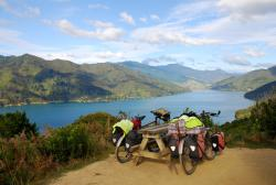 210-Bikes and Queen Charlotte Sounds.JPG