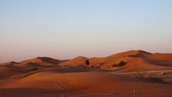 Beautiful desert scenery