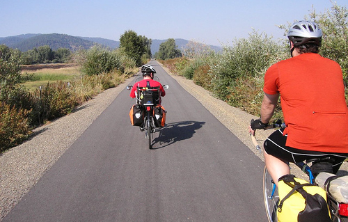 Greg and Mark on Trail by gregraisman, on Flickr