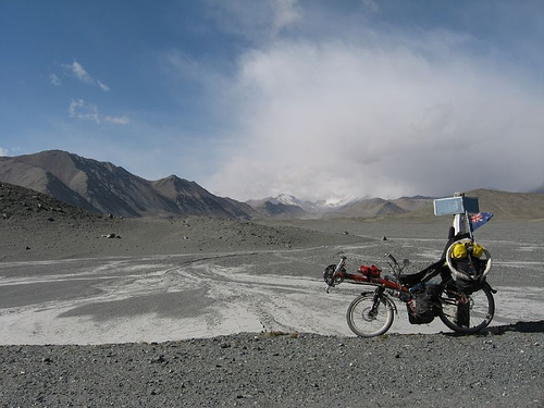 Moonscape on the Pamir Highway, by Robert Thomson, on Flickr