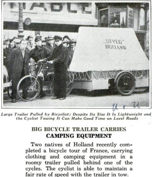 Big Bicycle Trailer