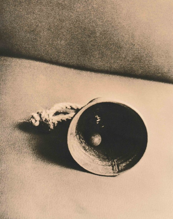 """""""Bell"""" © Barry Mayfield. Approx. 9X7"""" (23.5X18.5cm) handcrafted alternative process photograph (silver gelatin lith print). GALLERY5X7 offers this signed, original print at $250."""