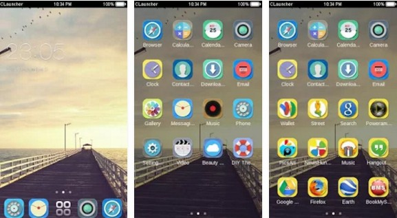 c launcher themes Bridge CLauncher Theme