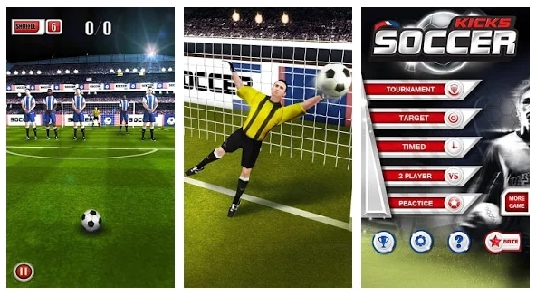 Soccer Kicks Football Sepak Bola HP Android
