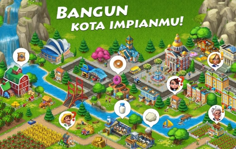 Township Builder Game Android