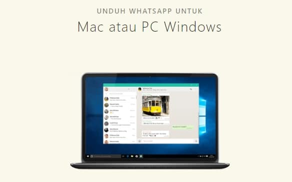WhatsApp Untuk Kompter dan Laptop