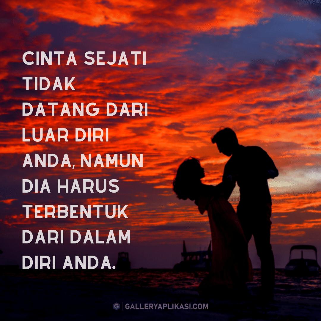 gambar kata kata cinta sejati couple siluet