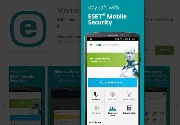 Antivirus HP Android