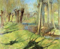 Giverny Willows, 1890-91