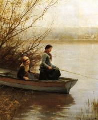 Knight_Daniel_Ridgway_Fishing
