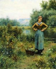Knight_Daniel_Ridgway_Girl_in_a_Landscape