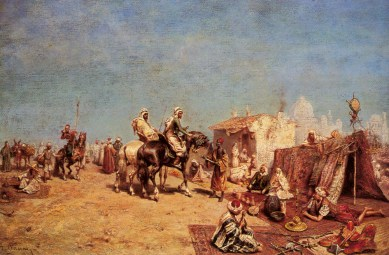 Pasini_Alberto_An_Arab_Encampment