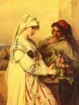 Portaels_Jean-Francois_The_Rose_Vender