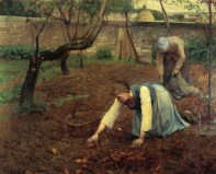 The Potato Gatherers, 1891