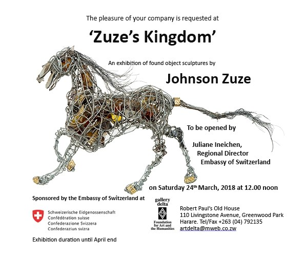 Johnson Zuze's invitation