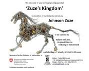 Johnson Zuze's invitation