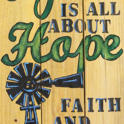 Piti Life is all about hope, faith and love