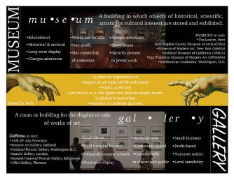 Museum Vs. Gallery Page 2