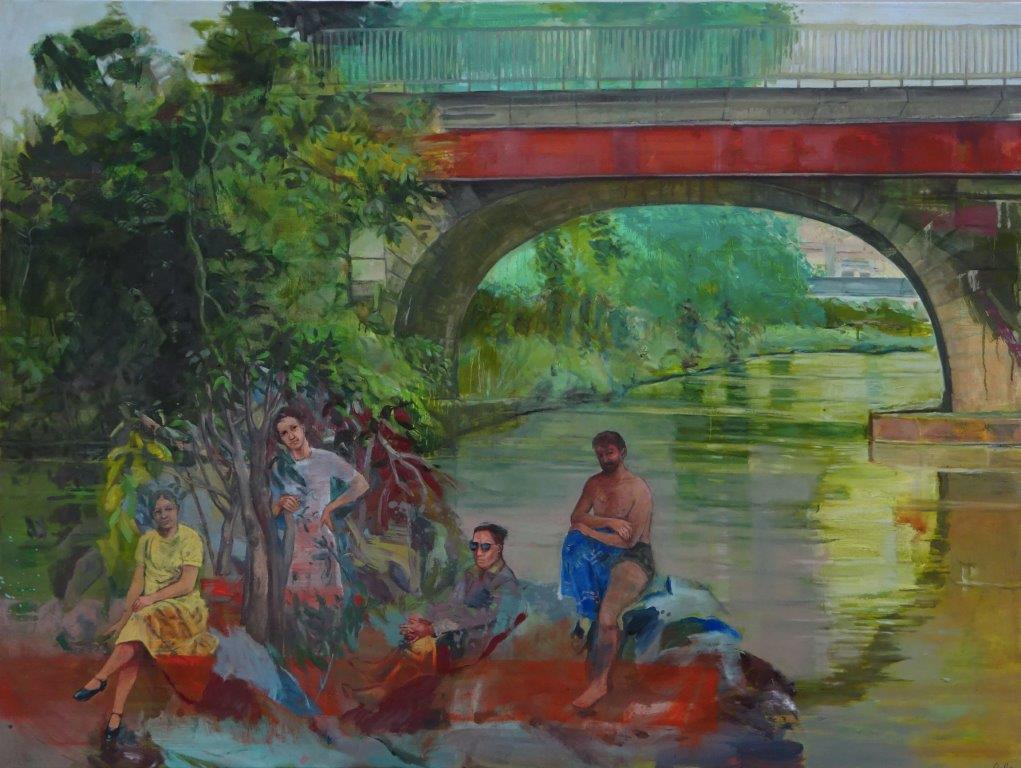 edith-oellers-Begegnung an der roten Brücke