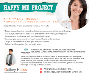 Happy ME Project with Sandra Fung October 2019