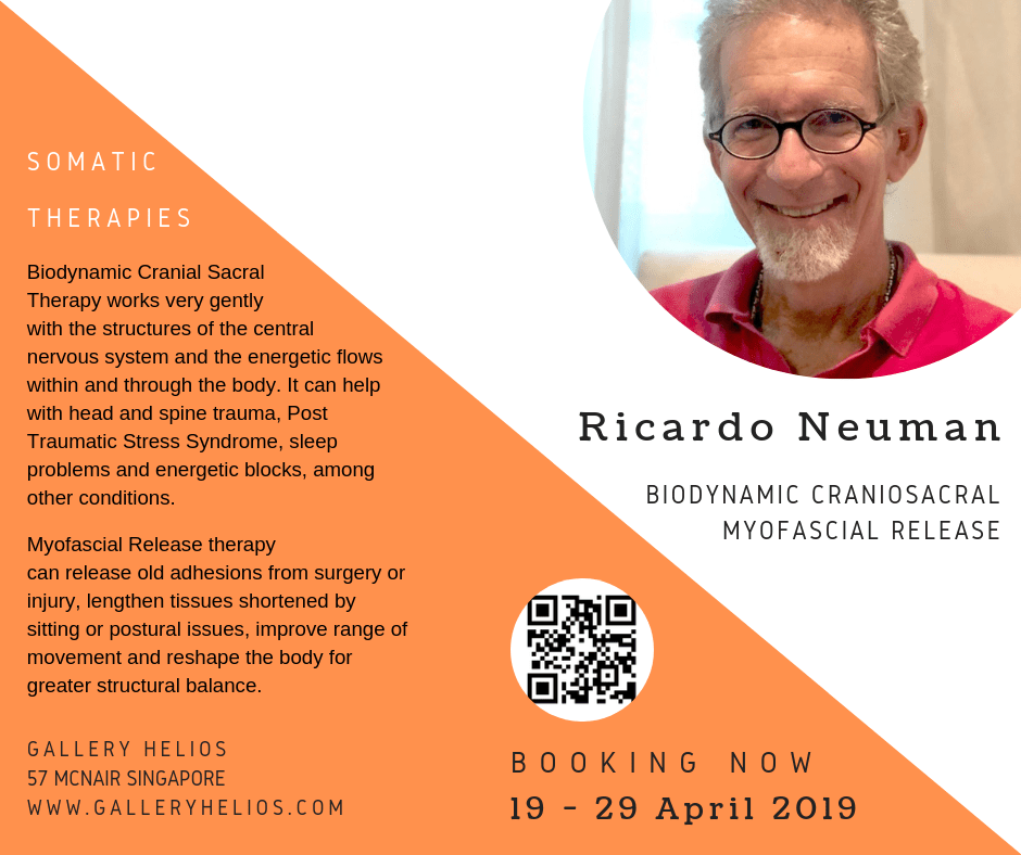 Somatic Therapies with Ricardo April 2019