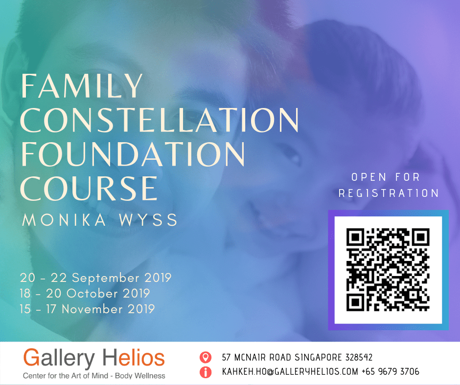 Family Constellation Foundation Course with Monika Sept - November 2019