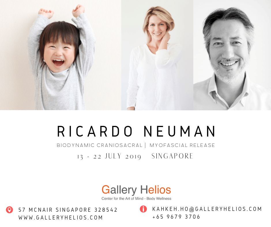 Ricardo Neuman Somatic Therapies Singapore July 2019 Visit