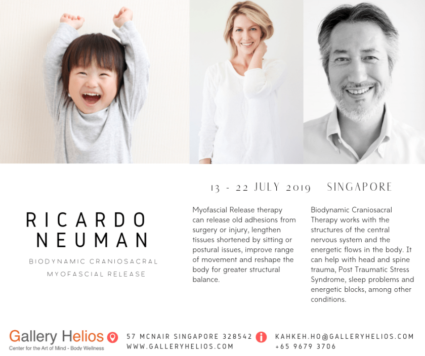 Ricardo Neuman Somatic Therapies Singapore July 2019