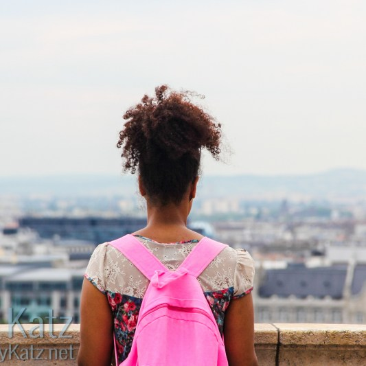 Sightseer with Backpack Budapest