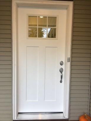 Custom door front
