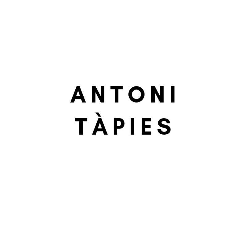 Künstler: Antoni Tapies