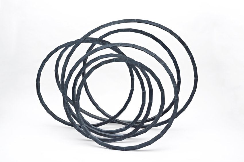 Abraham David Christian, Interconnected Sculpture, 2016, Bronze, 109 x 150 x 80 cm