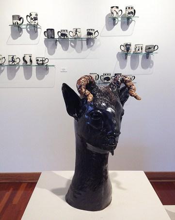 Pam Young (ceramics), Su Harvey (sculpture)