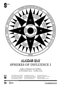 Alasdair Gray Season: Spheres of Influence I