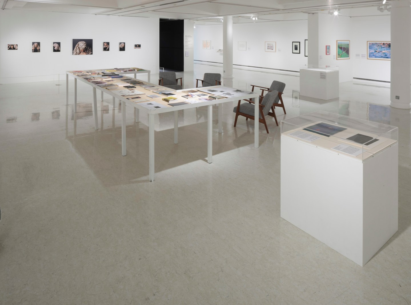 Ripples on the Pond, installation shot. Photo copyright Ruth Clark
