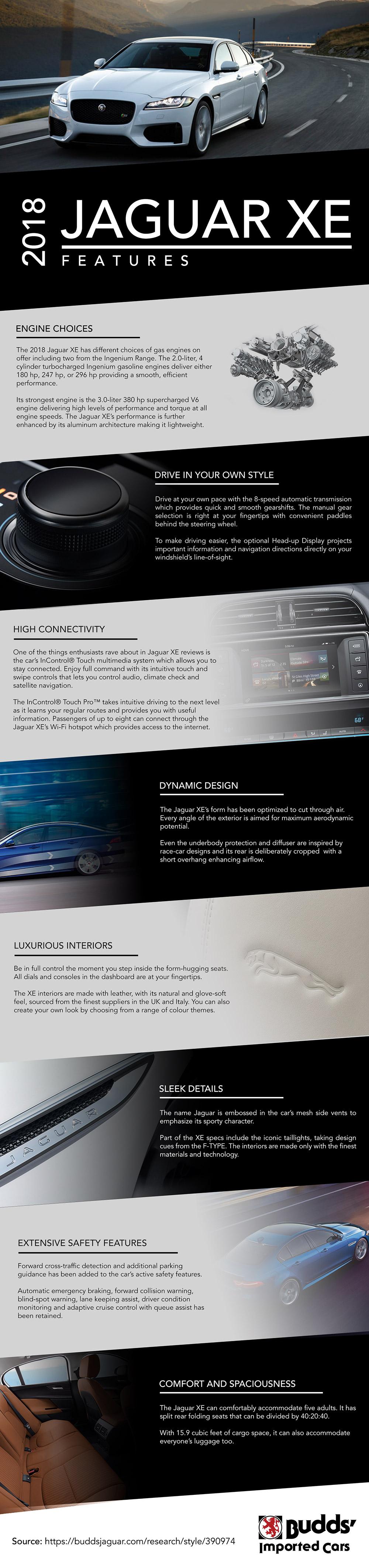 2018 Jaguar Xe Features