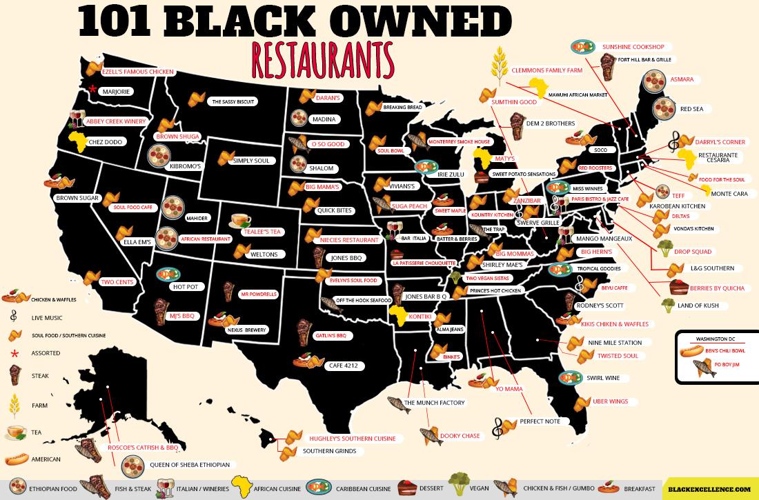 101 Black Owned Restaurants