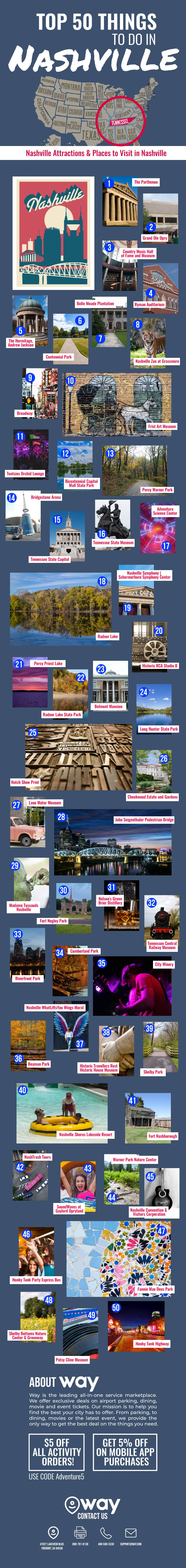 Top 50 Things to Do in Nashville