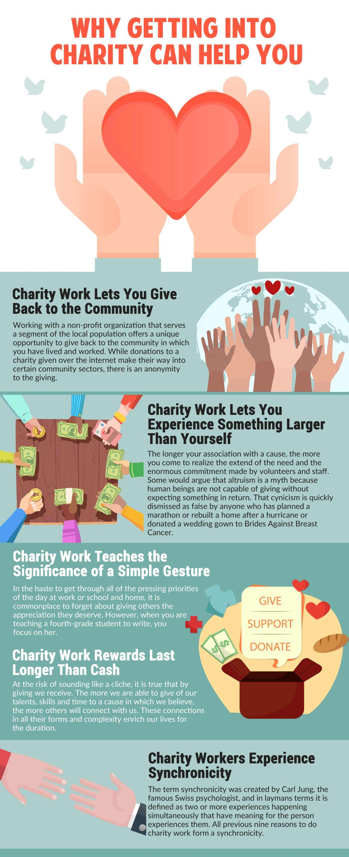 Why Getting into Charity can Help you