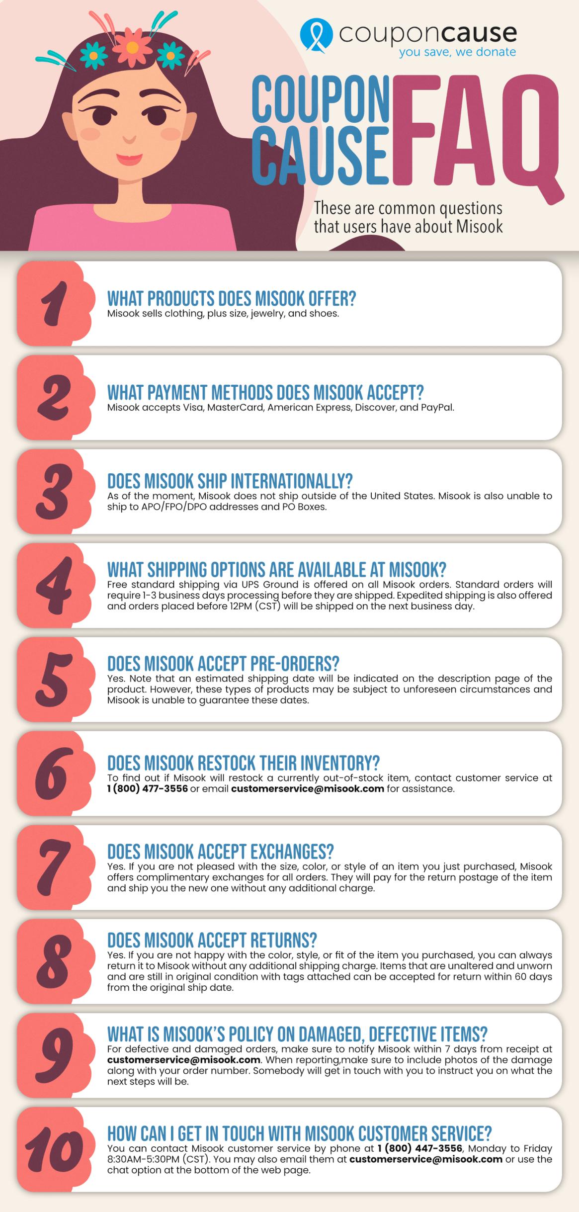 Misook Infographic Order Coupon Cause FAQ (C.C. FAQ)