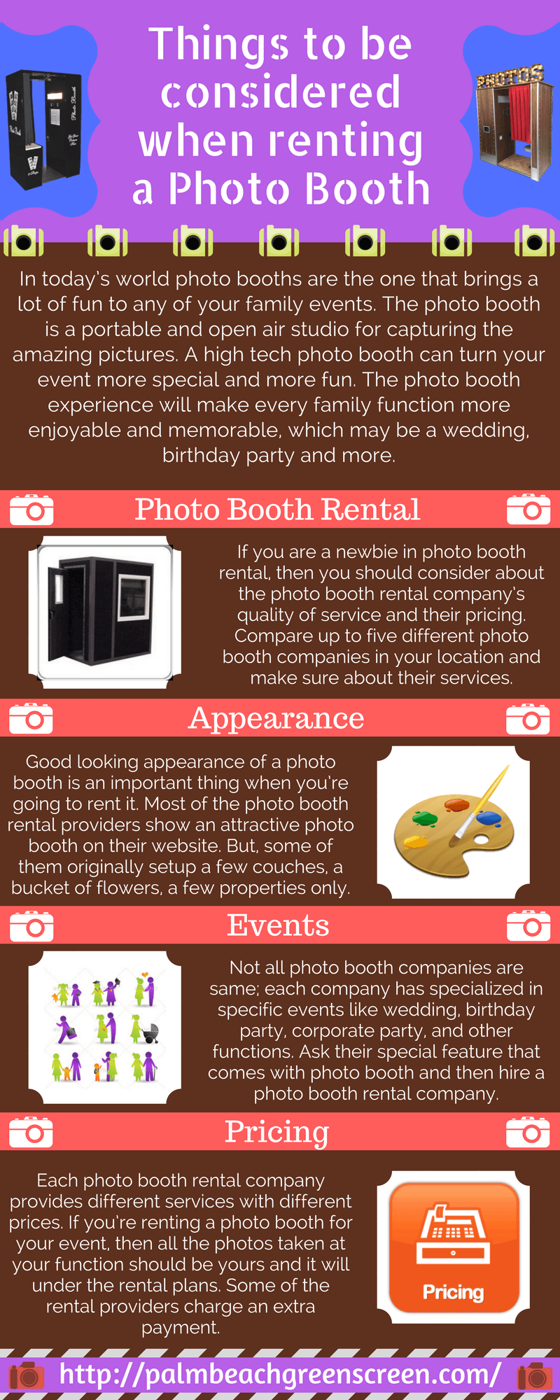 Things to be Considered When Renting a Photo Booth