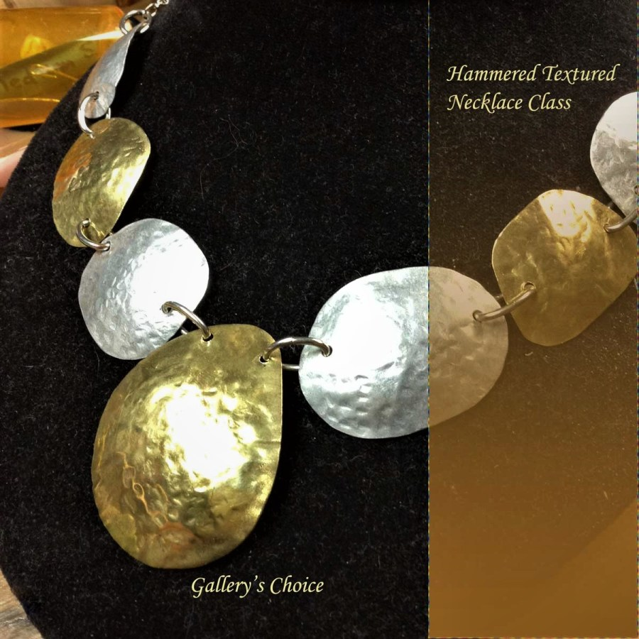 Hammered Textured Jewelry Class