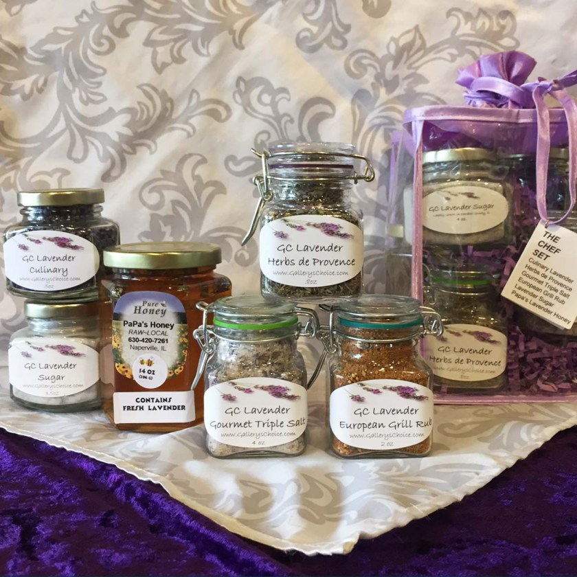 """Chef"" GC Lavender Gift Set"