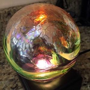 Blown Glass Gazing Ball