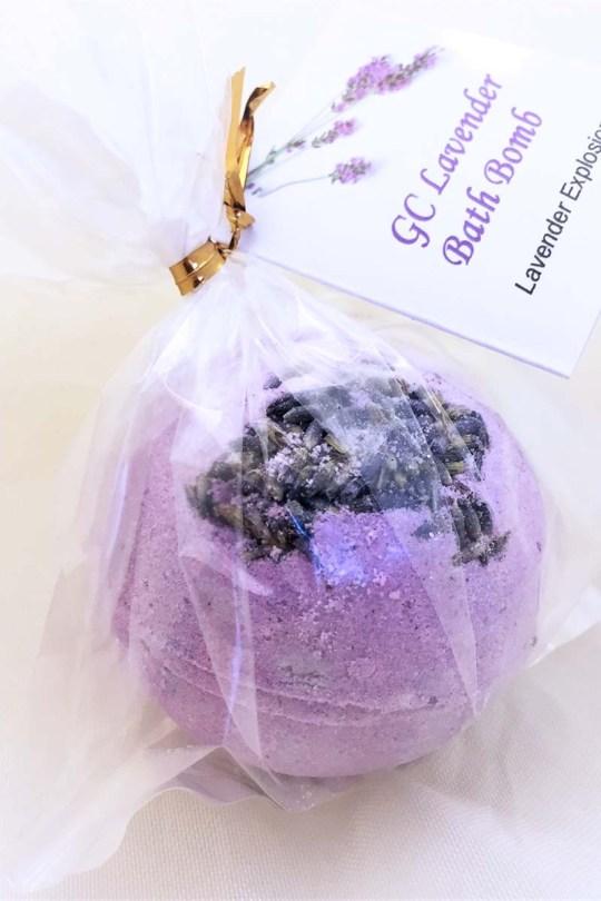 GC Lavender Explosion Bath Bomb
