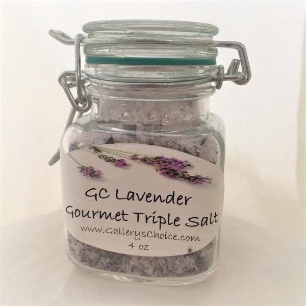 GC Lavender Gourmet Triple Salt Blend