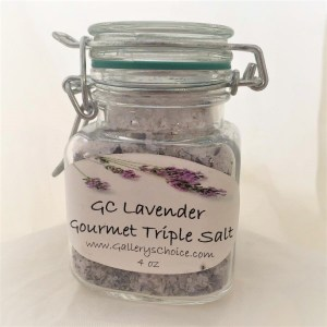 GC Lavender Gourmet Triple Salt Blend