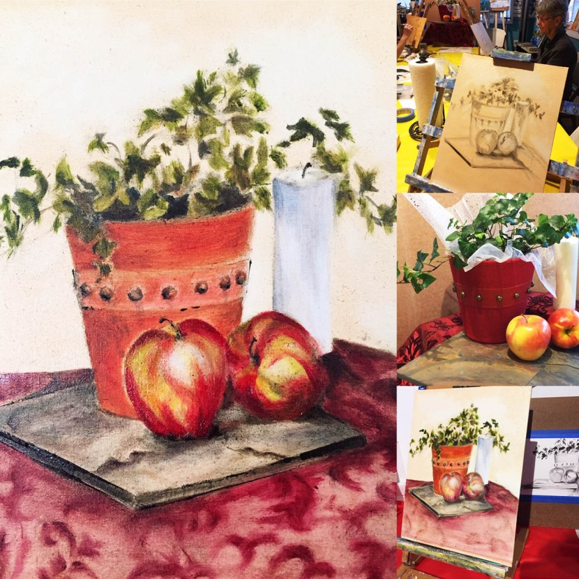 Grisaille Painting Still Life